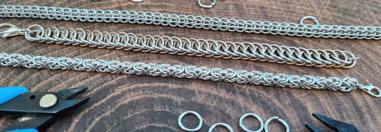 Chainmail Jewellery for Continuing Students