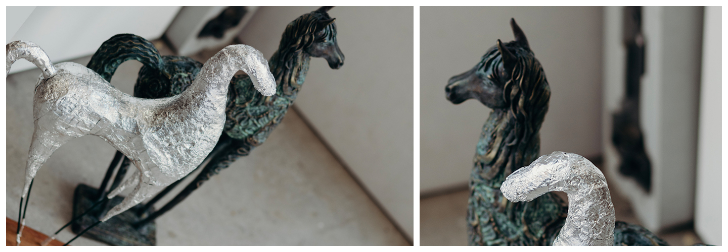 Antique Horse sculpture