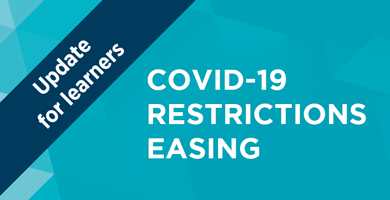 COVID-19 update to learning activities