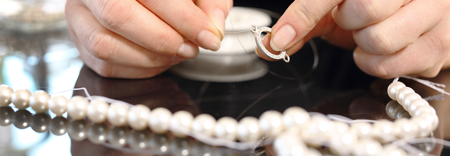 Pearl and Bead Threading and Restringing